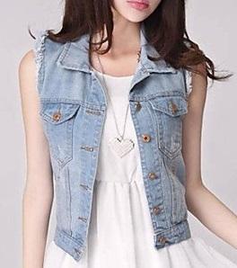 Chaquetas de jean para mujer precios
